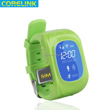 Water ResistantKids mobile gps tracker wrist watch free online software gps sim card real time tracker NW-11E