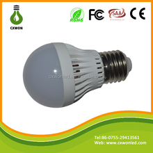 E27 smd5730 3w 5w 7w 9w lamp led led plastic raw materials prices