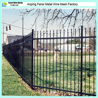 Galvanized Ornamental Custom Metal Fencing Made In China