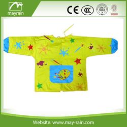 waterproof promotion drawing kids pvc apron