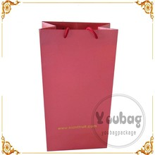 glossy lamination clothing packaging apparel paper bag