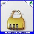 de bloqueio do saco promocional cadeado com combinação tipo de bloqueio e material plástico código do fechamento de combinação