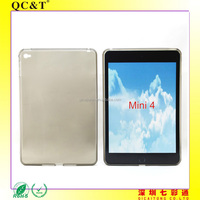 Soft TPU Mobile Cover Printing Mobile Phone Clear Case For iPad mini 4