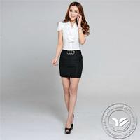 140 grams Guangzhou silk/cotton blue corner shirts