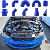 Auto engine air intakes silicone hoses