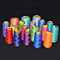 New material natural hemp rope poly poly corespun thread for embroidery high strength virgin grade 100% spun polyester thread