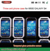 Cell phone cover case for Metal Shockproof Waterproof Dust/Dirty Proof Three Anti-proof Case for Samsung i9500 Galaxy S4