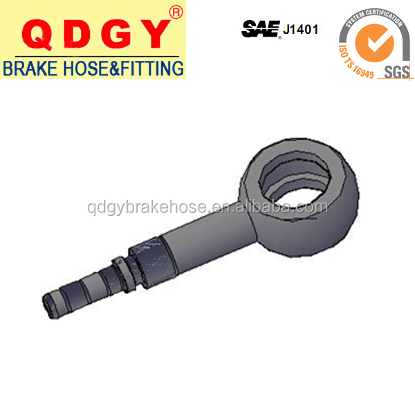 braided brake hose fitting , banjo fitting