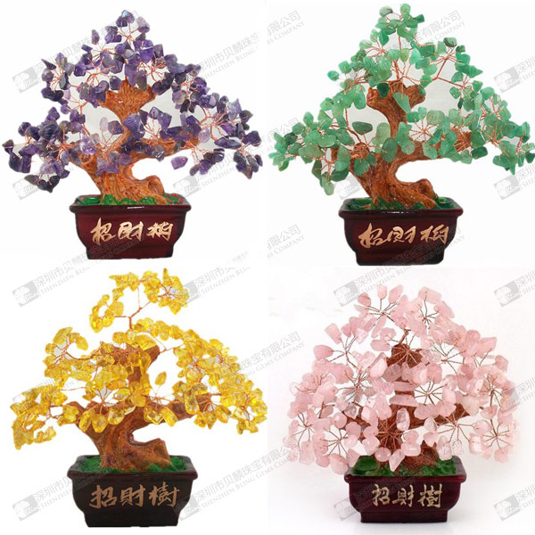 Wholesale gemstone tree stone crafts citrine rose quartz for Where to buy rocks for crafts