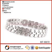 Bio magnetic energy stainless steel energy bracelet
