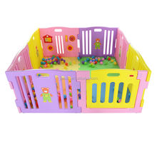 8panel innovative baby playpen safety yard pen(with ASTM F963) baby product