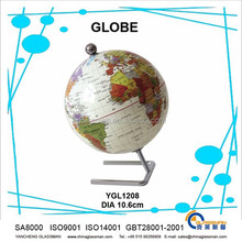 hot sales ! good quality earth globe for teaching or desk &home decoration or birthday gifts souvenir YGL1208
