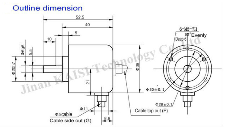 chinese supplier incremental rotary encoder cnc machine