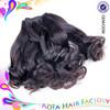 Aofa Hair natural raw indian wavy hair wholesale unprocessed indian virgin hair
