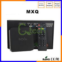 Quad core GPU amlogic s805 tv box support H.264/H.265 MXQ, amlogic s805 mxq pre-installed xbmc android tv box mxq