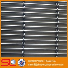 Decorative metal mesh home office partition screen,2.5 mm diameter metal curtain rod, mesh curtain