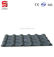 pvc tiles for roofing of modern house project