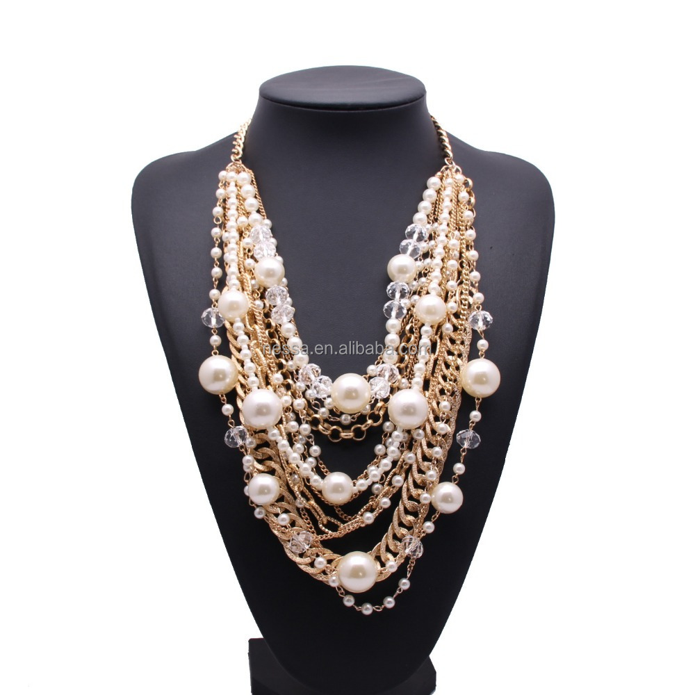 Fashion Wholesale Pearl Necklace Costume Jewelry Xx10014  Buy Pearl