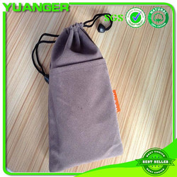 Wholesale small drawstring durable fashion custom jewelry pouches