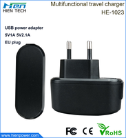 Wholesale high quality 5V1A 5V2A USB charger for mobile phone and tablet PC