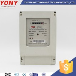 zhejiang DTS3666 Digital and Smart with LCD display Three-phase four-wire Energy Meter with RS485 or modbus interface