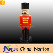 factory hot sale outdoor decorative life size statu in resin NTRS-CS251S