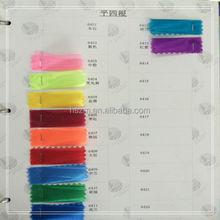 Thick organza fabric Wujiang textile supplier