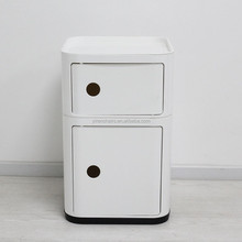 room furniture/Funky 2 Tier Slide front Bathroom Bedroom Storage cabinet unit ABS Plastic