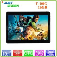 Brand New T-101G MT8382 Android 4.4 OS WIFI 3G Dual card 10 inch tablet with lan port with low price