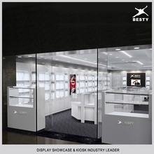 Famous brand jewelry display kiosk counter