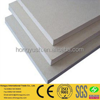 standar size 12mm thick gypsum board price