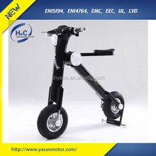 2015 new products 48V 11Ah SAMSUNG folding 2 wheel folding electric scooter for adult