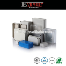 Light grey IP65 PC plastic waterproof enclosures