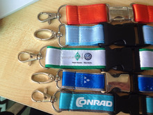 High quality metal buckle sublimation lanyard with breakaway clip/safety buckle