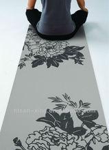 New design home paiting anti-slip pvc yoga/gym/exercise mat
