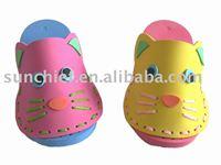DIY Foam craft slippers