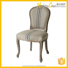 vintage wooden upholstery French chair