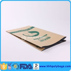 China supplier Custom Dog Food Packaging Kraft Paper Bag