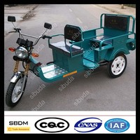 SBDM Electric Tricycle Food Vending Carts