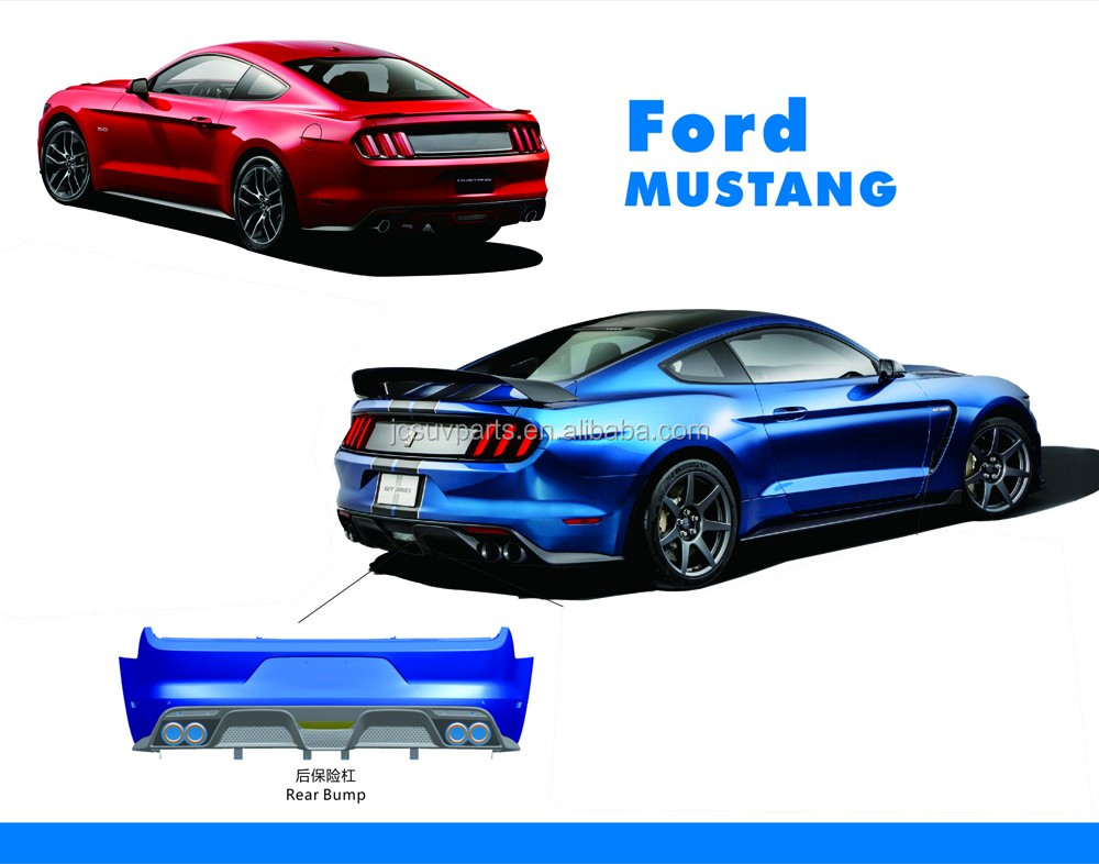 Gt Style Pp Material Mustang Body Kit For Ford Mustang Gt