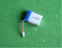 Customized 1S2P 3.7v 2000mah li-ion battery pack with PCB, wire and connector