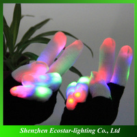 Multicolor LED Rave Gloves/LED Magic Gloves for Kids