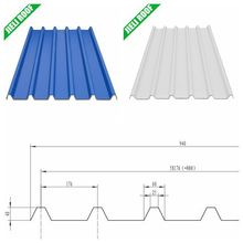 Outdoor printing corrugated Plastic Roofing Sheet