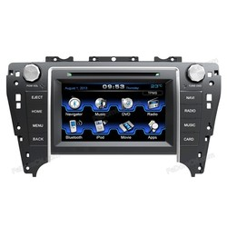 7 inch car dvd player gps car stereo 2 din for Toyota Camry 2012