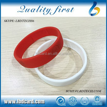 Free Samples Sillicone T5577 MF Ultralight C Access Control Wristband/Ultralight EV1 Bracelet for Swimming Pool