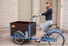 2015 hot sale three wheel danish electric tricycle with passenger seat