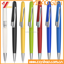 Custom design logo plastic/metal ball pens /Ballpoint Pen with full color printing