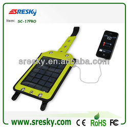 High Quality New Usb Mobile Solar Charger Bag For Smart Phone