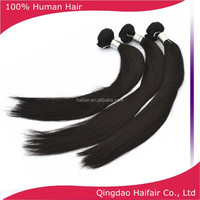Salon human hair extensions products, straight hair extensions factory price
