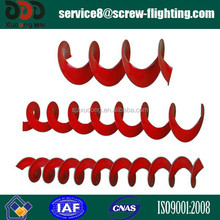 Equal Pitch Carbon Steel thickness 2-5mm Screw Flight